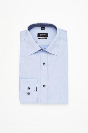 Recman Mężczyzna Z długim rękawem - Koszula bexley 2360 długi rękaw custom fit