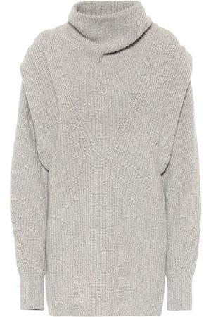 Isabel Marant Prewitt cashmere and wool minidress