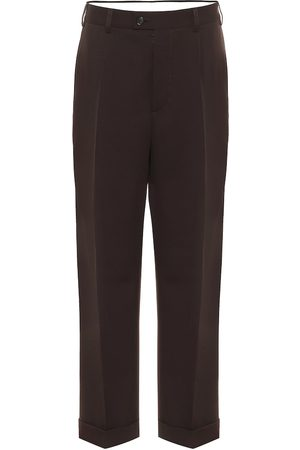 Maison Margiela Cropped wool pants