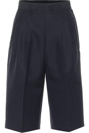Maison Margiela Wool and angora shorts