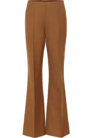 Joseph Talou stretch-wool flared pants