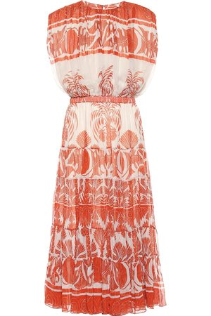 JOHANNA ORTIZ Cordillera printed midi dress