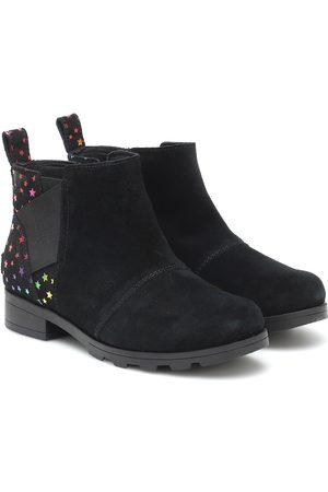 sorel Emelie suede Chelsea boots