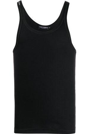 Dolce & Gabbana Mężczyzna Tank topy - Black