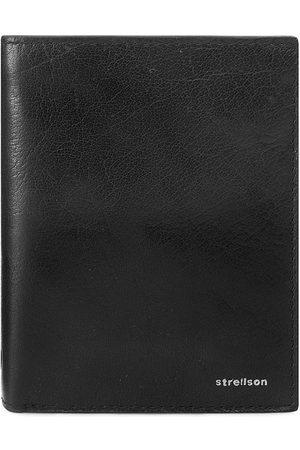 Strellson Duży Portfel Męski - Billfold V8 4010001300 Black 900