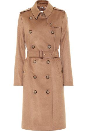 Burberry Kensington cashmere trenchcoat