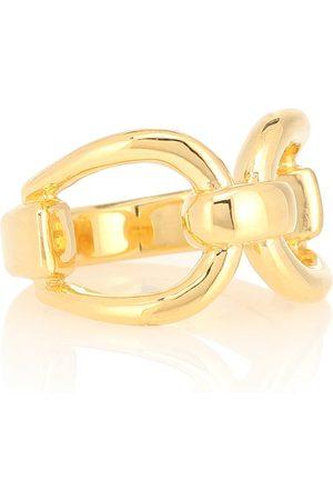 Sophie Buhai Horsebit 18kt gold-vermeil ring