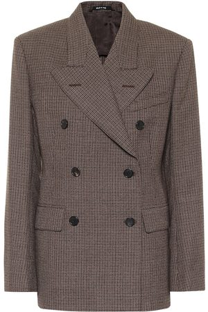 Maison Margiela Checked wool blazer