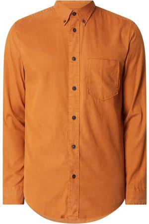 Selected Mężczyzna Na co dzień - Koszula casualowa o kroju regular fit z diagonalu model 'Clark'