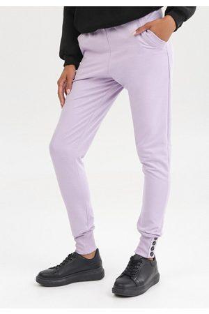 The Other Kobieta Spodnie - Jasnofioletowe Spodnie Uhrlenne