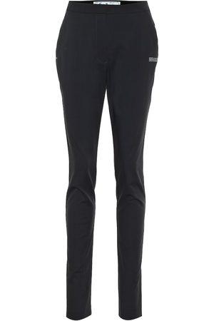 OFF-WHITE High-rise slim pants