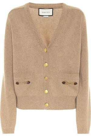 Gucci Embellished cashmere cardigan