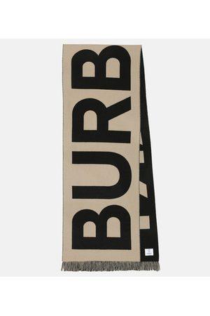 Burberry Logo wool scarf