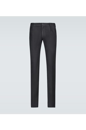 Incotex Single-pleated chino pants