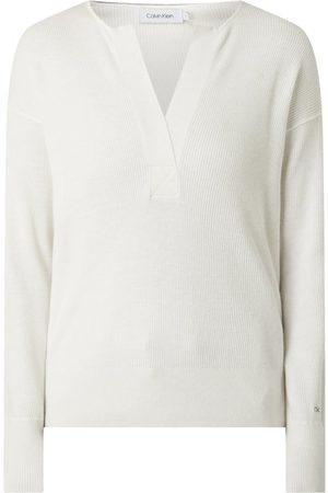 Calvin Klein Sweter z obniżonymi ramionami