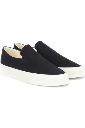 The Row Mary canvas sneakers