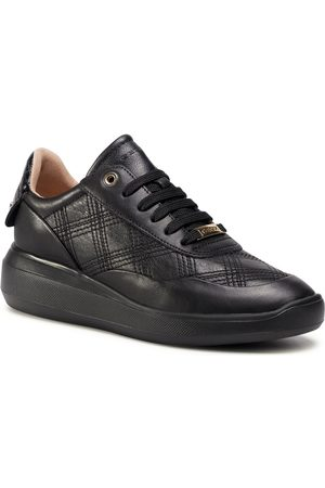 Geox Kobieta Sneakersy - Sneakersy - D Rubidia E D04APE 08540 C9999 Black
