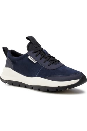 Timberland Sneakersy - Boroughs Project TB0A24RXL421 Dark Blue Suede