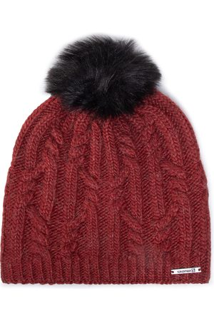 Salomon Czapka - Beanie Bonnet 142550 Madder Brown