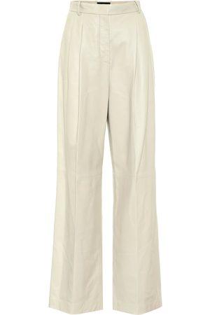 Joseph Tima high-rise wide-leg leather pants