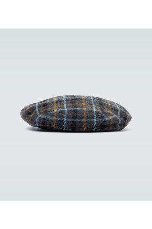 UNDERCOVER Beret - Wool checked beret