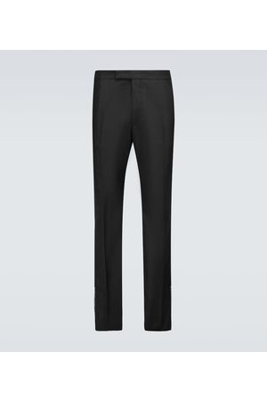 RAF SIMONS Slim-fit pants with ankle zippers