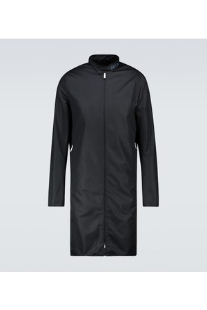 RAF SIMONS Slim-fit zipped nylon coat