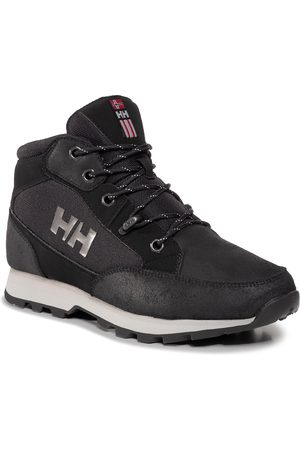 Helly Hansen Mężczyzna Buty trekkingowe - Trekkingi - Torshov Hiker 11593-990 Black/New Light Grey