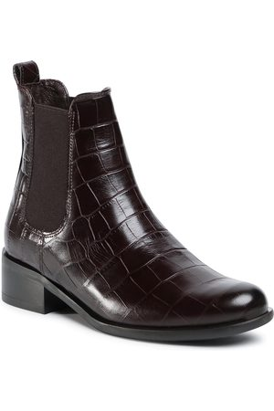 Gino Rossi Sztyblety - 8484-05A Brown