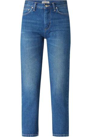 Carhartt Jeansy o kroju slim tapered fit z bawełny model 'Page'