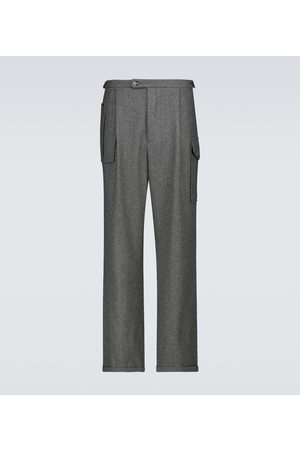 WINNIE N.Y.C Pleated wool pants