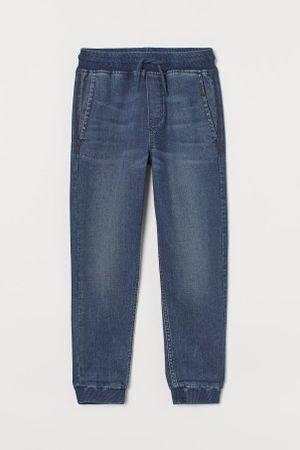 H&M Chłopiec Spodnie dresowe - Dżinsowe joggersy Super Soft