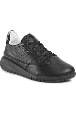 Geox Sneakersy - D Aerantis A D02HNA 00085 C9996 Black/Black