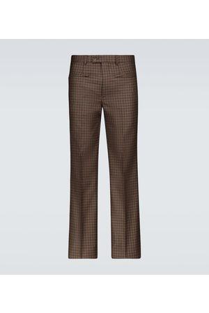 Givenchy Spodnie eleganckie - Tweed hecked pants