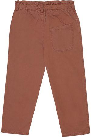 Caramel Vulture cotton pants