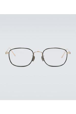 CARTIER EYEWEAR Metal frame glasses