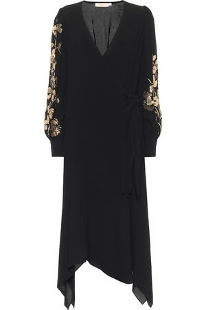 Tory Burch Sequined wrap dress