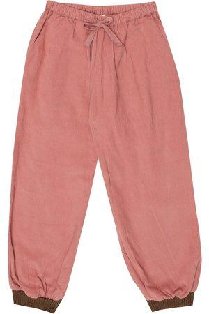 Caramel Wren cotton corduroy pants