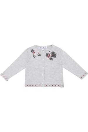 Tartine Et Chocolat Kardigany - Baby embroidered cardigan