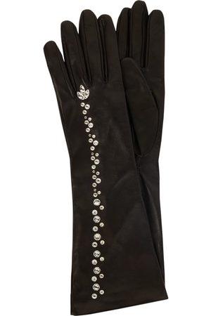 Roeckl Rękawiczki - Rękawiczki z kryształkami Swarovskiego