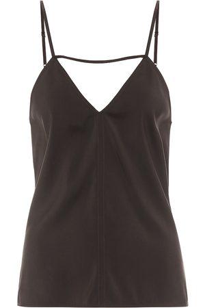 Bottega Veneta Stretch-twill camisole