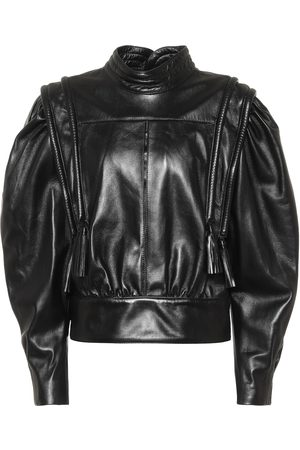 Isabel Marant Lars leather blouse