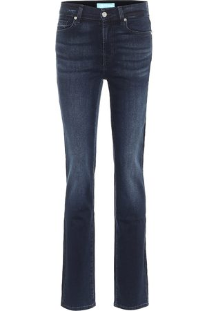 7 for all Mankind The Straight B(AIR) high-rise jeans