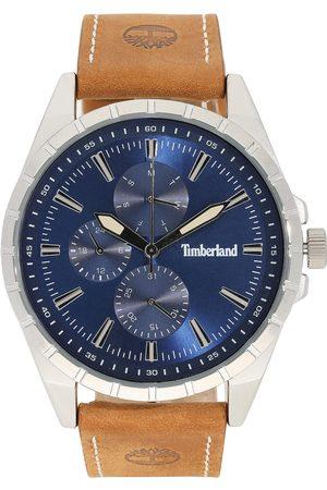 Timberland Mężczyzna Zegarki - Zegarek - Boxbourough 15909JYS/03AS Brown/Silver