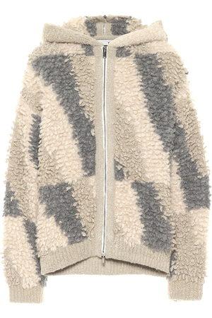 Stella McCartney Alpaca and wool-blend hoodie