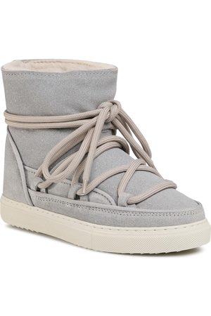 INUIKII Kobieta Kozaki - Buty - Sneaker Glitter 70202-111 Light Grey