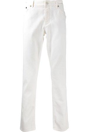 Brunello Cucinelli Mężczyzna Straight - White