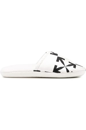 OFF-WHITE Arrows motif slippers