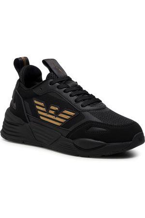 EA7 Sneakersy - X8X070 XK165 M701 Triple Black/Gold