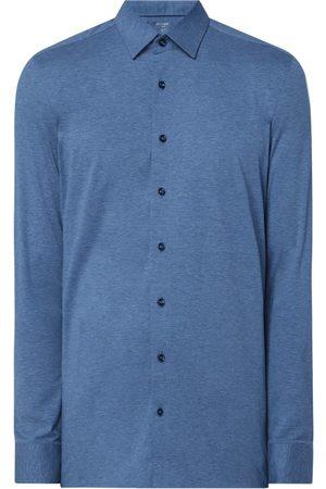 Olymp Koszula biznesowa o kroju regular fit z dżerseju